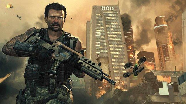 Black Ops 2 spielt im Kalten Krieg und in der Zukunft.