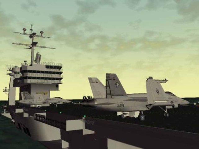 Ein Flugzeugträger