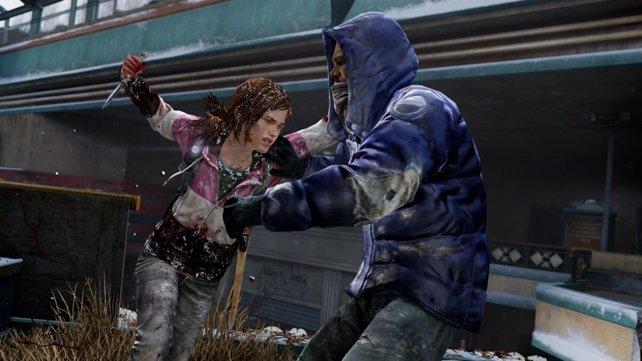 Aufgrund ihrer schmächtigen Statur hat es Hauptcharakter Ellie besonders im direkten Nahkampf schwer. Intelligentes Vorgehen ist gefragt.
