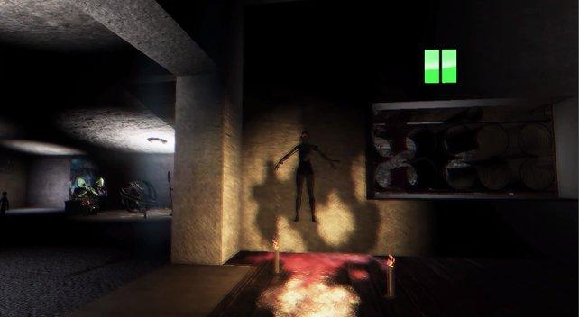Paranormal lebt vor allem von plötzlichen Schockern.