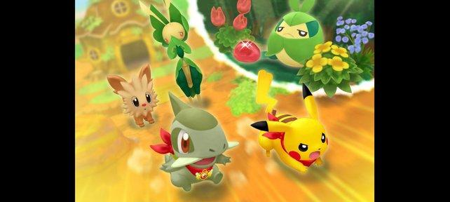 In Gestalt eines Pokémon stürzt ihr euch in zahlreiche Abenteuer.