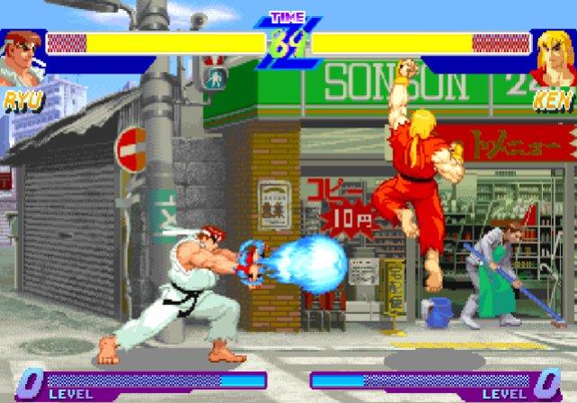Ken vs. Ryo, die zweit berühmtesten Kämpfer in Street Fighter.