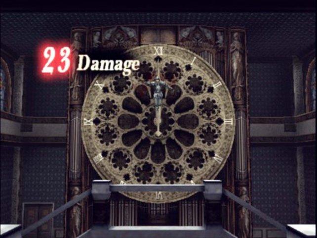 """Eine von wenigen """"Dark-Illusion""""-Spezial-Fallen, die im Spiel eingebaut sind. Hier die Uhr"""