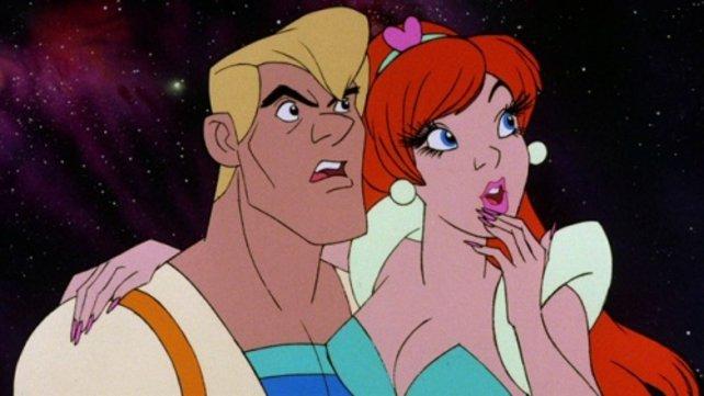 Als Zeichentrickfilm sieht Space Ace auch heute noch toll aus. Mit der Interaktivität hapert´s dagegen ein wenig...