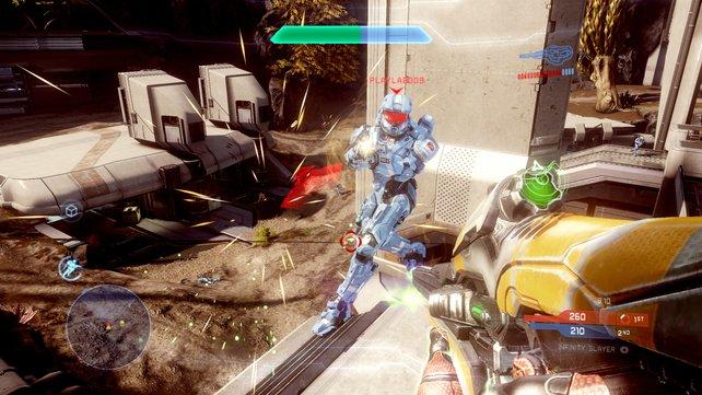 Der Multiplayer: 16 Spieler, 13 Maps, neun Spielmodi und die Schmiede als Editor.