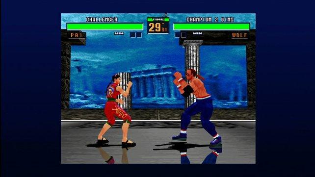 Virtua Fighter 2 ist ein echter Klopp-Klassiker.