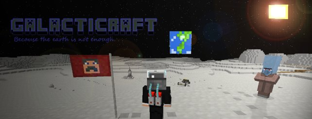"""Minecraft auf dem Mond, Mod """"Galacticraft"""" macht es möglich"""