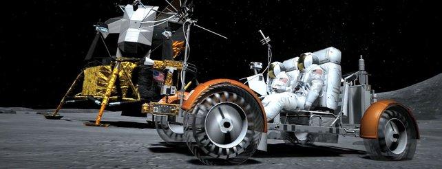 Gran Turismo 6: Lunar-Fahrzeug im neuen Video, Rennen auf dem Mond?