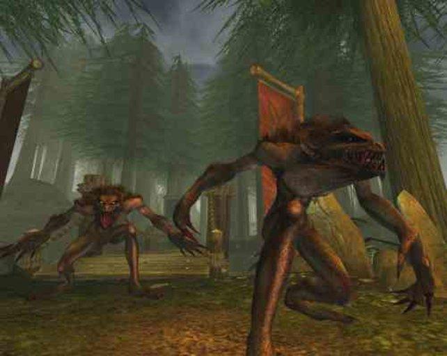 ...und fiese Monster wie diese Balverine