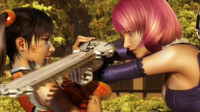 Meinungsverschiedenheiten tragen Xiaoyu und Alisa ziemlich handfest aus.
