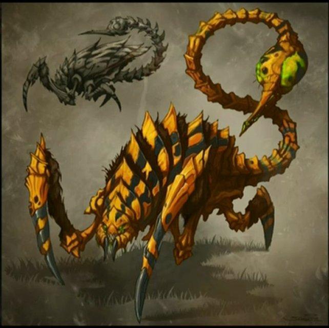 Der Skorpion könnte eine Erweiterung für Zerglinge darstellen.