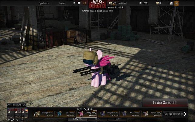 Am ersten April könnt ihr in Warfighter mit fliegenden Ponys spielen.