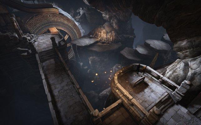 Im Spielverlauf verschlägt es die Brüder in finstere Katakomben.
