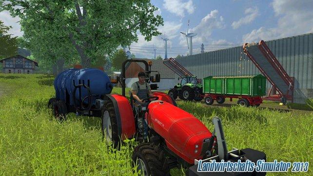 Der Argon im Landwirtschafts-Simulator 2013