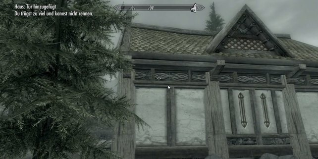 Ein selbst gebautes Haus - schön.