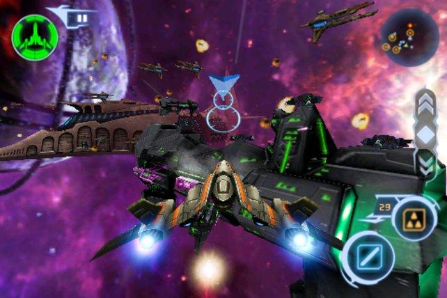Gut gegen Böse: Große Schlachten im Weltraum sind auch dabei.