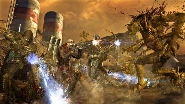 Nachdem Darius Mason Außerirdische befreit, stürzen die sich auf die Menschen.