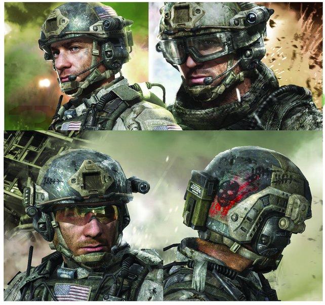 Sandman, ein amerikanischer Soldat und neuer Charakter in Modern Warfare 3.