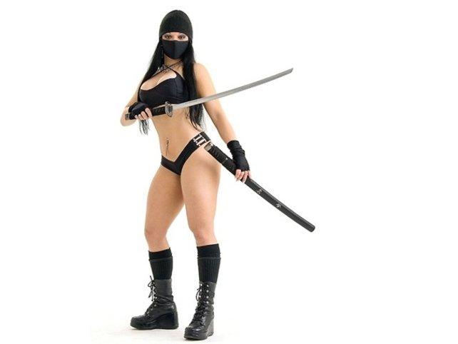 Wenn alle Ninja-Looter so aussähen, würden wir ja noch ein Auge zudrücken...