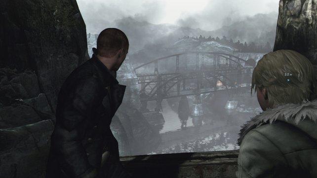 Auf der Flucht verschlägt es Jake und Sherry auch in die eisigen Berge Osteuropas.