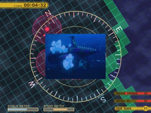 Gar nicht leicht, ein reaktorbetriebenes U-Boot zu lenken. Aber nehmt euch ein Beispiel an Käpt'n Nemo und tragt die Verantwortung wie ein Mann! Okay?