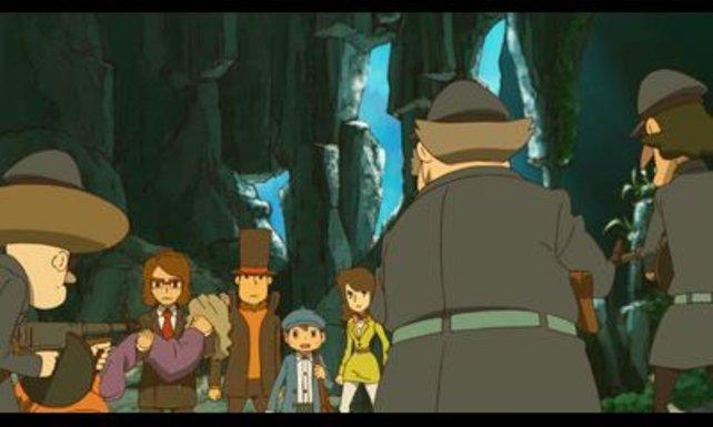 Professor Layton stürzt sich in sein letztes Abenteuer.