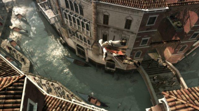 Die italienischen Städte sind frei erkundbar.