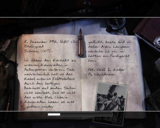 Tagebuch eines russischen Soldaten