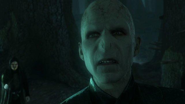 Voldemort trifft im Finale noch einmal auf Harry Potter.