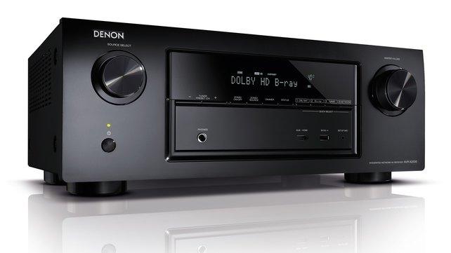 Der AV-Receiver liefert besten Surround-Sound in den heimischen vier Wänden.