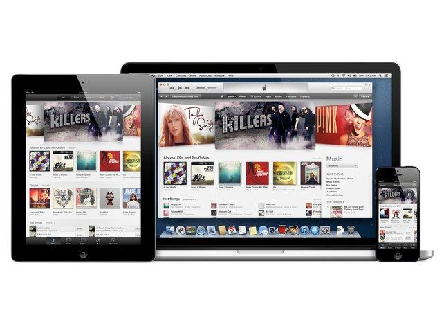 Alles beim Alten: Über iTunes spielt ihr Apps, Songs oder Filme auf das Gerät.