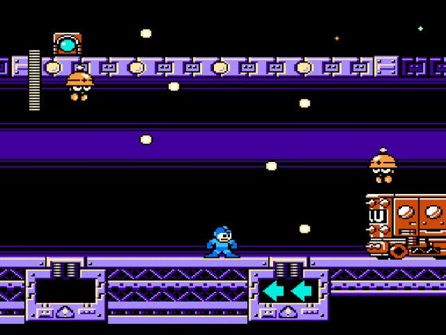 Mega Man 10: Flackernde NES-Grafik im Jahr 2010 - tolle Idee, aber keine neue.