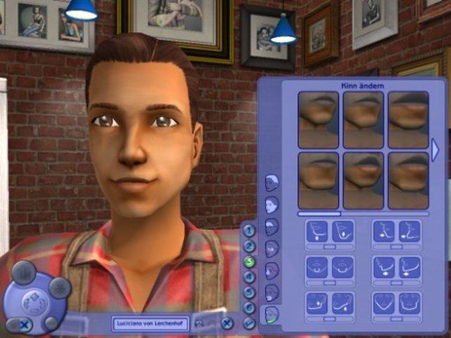 Ein Sims entsteht