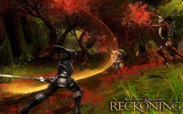 Kingdoms of Amalur zählt zu den buntesten Vertretern der Rollenspiel-Welt.