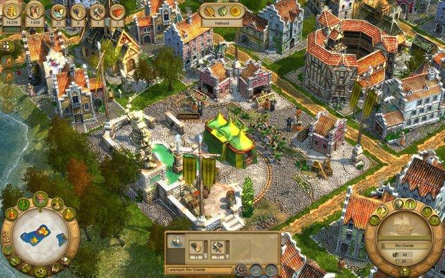 Ein Spielmansszug zieht über den Dorfplatz. Es geht den Bewohnern also sehr gut.