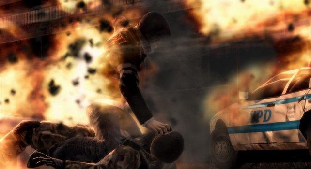 Chaos und Explosionen gehören zum Mutanten-Alltag