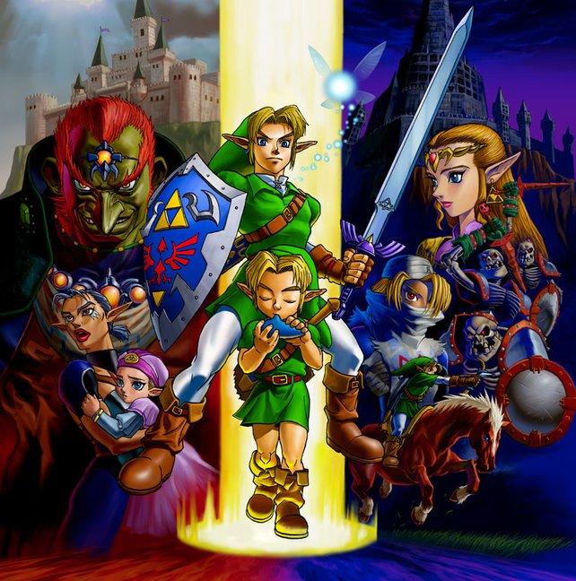 Die Zelda-Reihe steht abgesehen von wenigen Ausnahmen für erstklassige Spielbarkeit.
