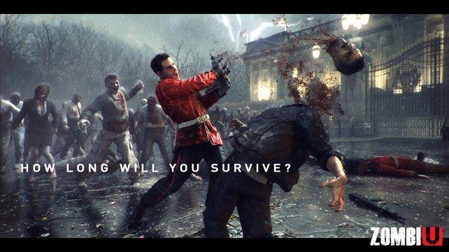 Zombi U spielt in einem von Untoten überrannten London.