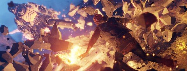 Infamous - Second Son: So entstehen die explosiven Effekte (Video)