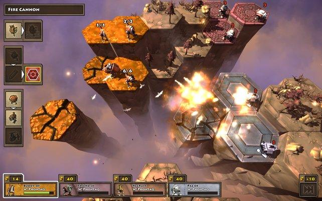 Die Steampunk-Welt von Greed Corp bietet Denksport pur.