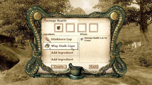 Der Alchemist von Welt braut seine Tränke selbst