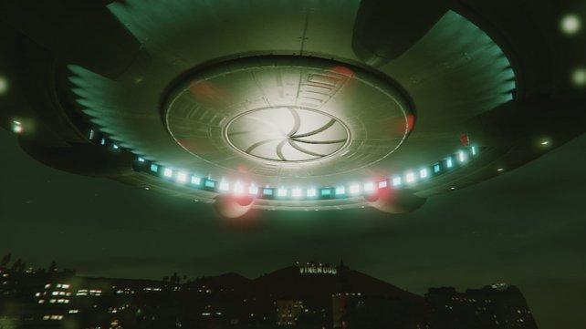 Insgesamt gibt es vier UFOs in GTA 5.