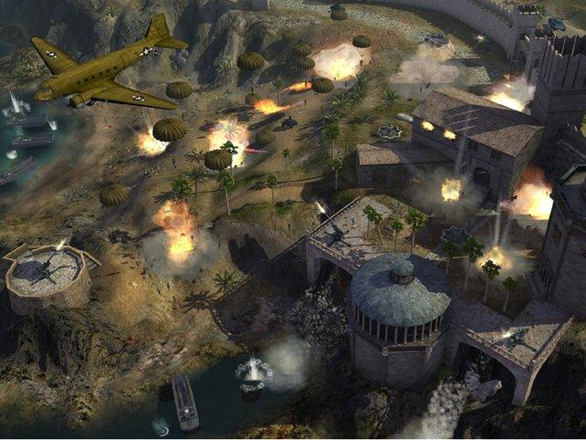 Ein Luftangriff