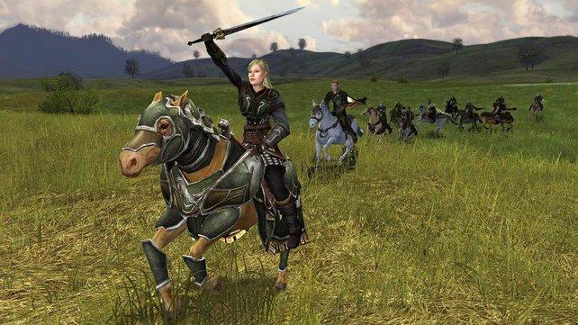 Die aktuelle Erweiterung Die Reiter von Rohan führte den berittenen Reiterkampf ein.