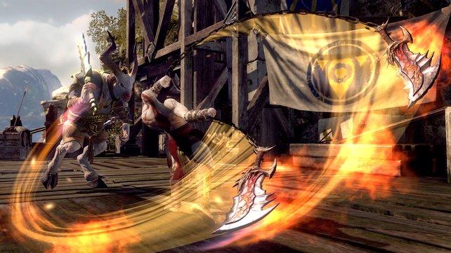 Kratos wütet wie eh und je.