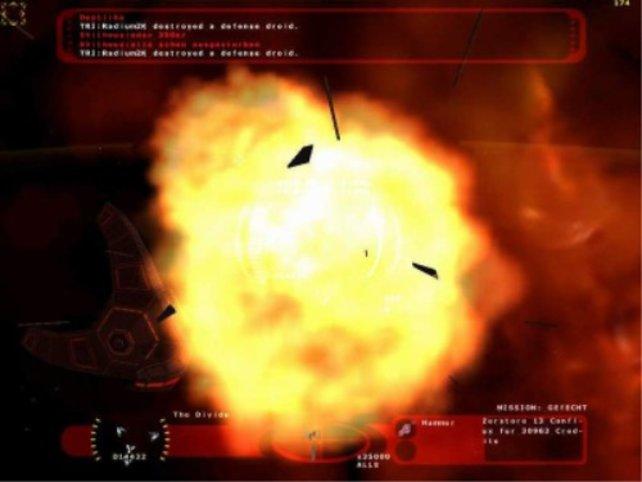 Ein gewaltige Explosion