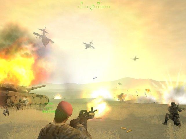 Koordinierte Luftangriffe sind für den Sieg enorm wichtig.