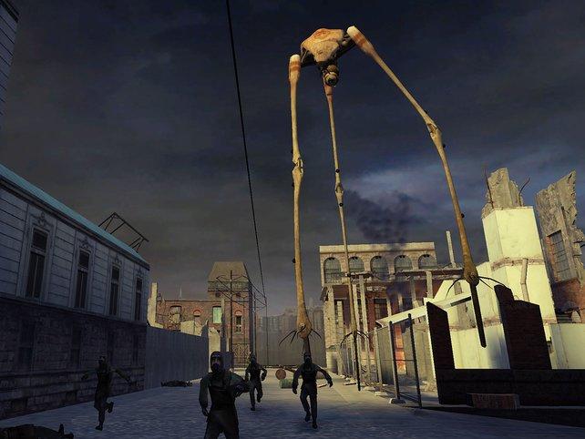 Half-Life 2 benötigt bereits 2005 zwingend eine Online-Anbindung über Steam.
