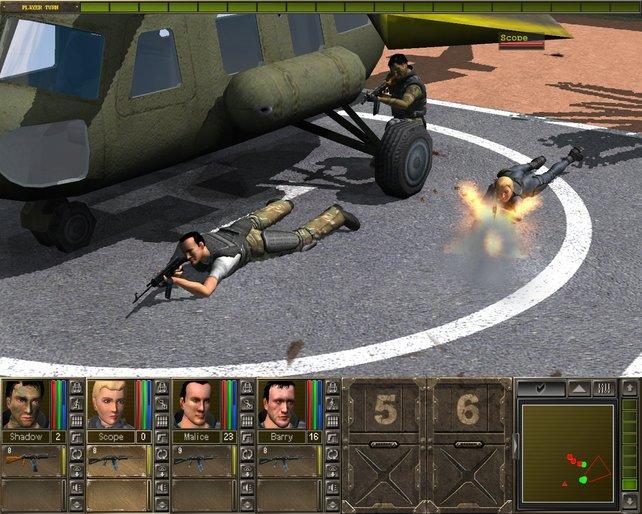 Nachteil: Der Alptraum jedes tauben Soldaten