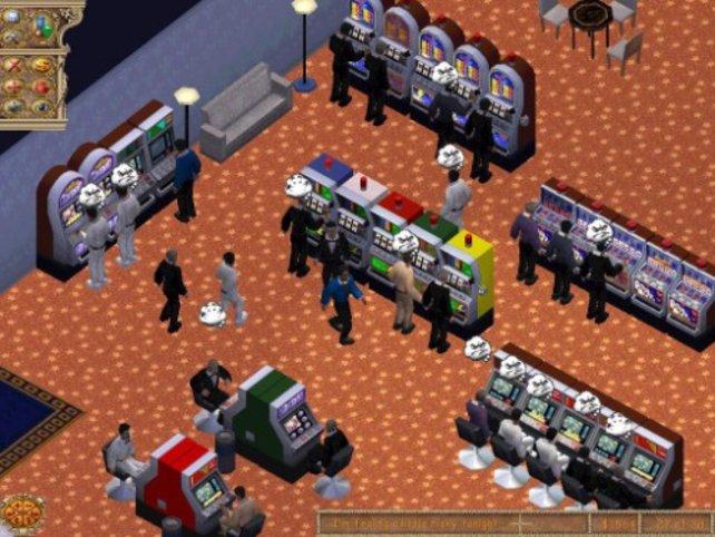 Mit Spielautomaten fängt man an